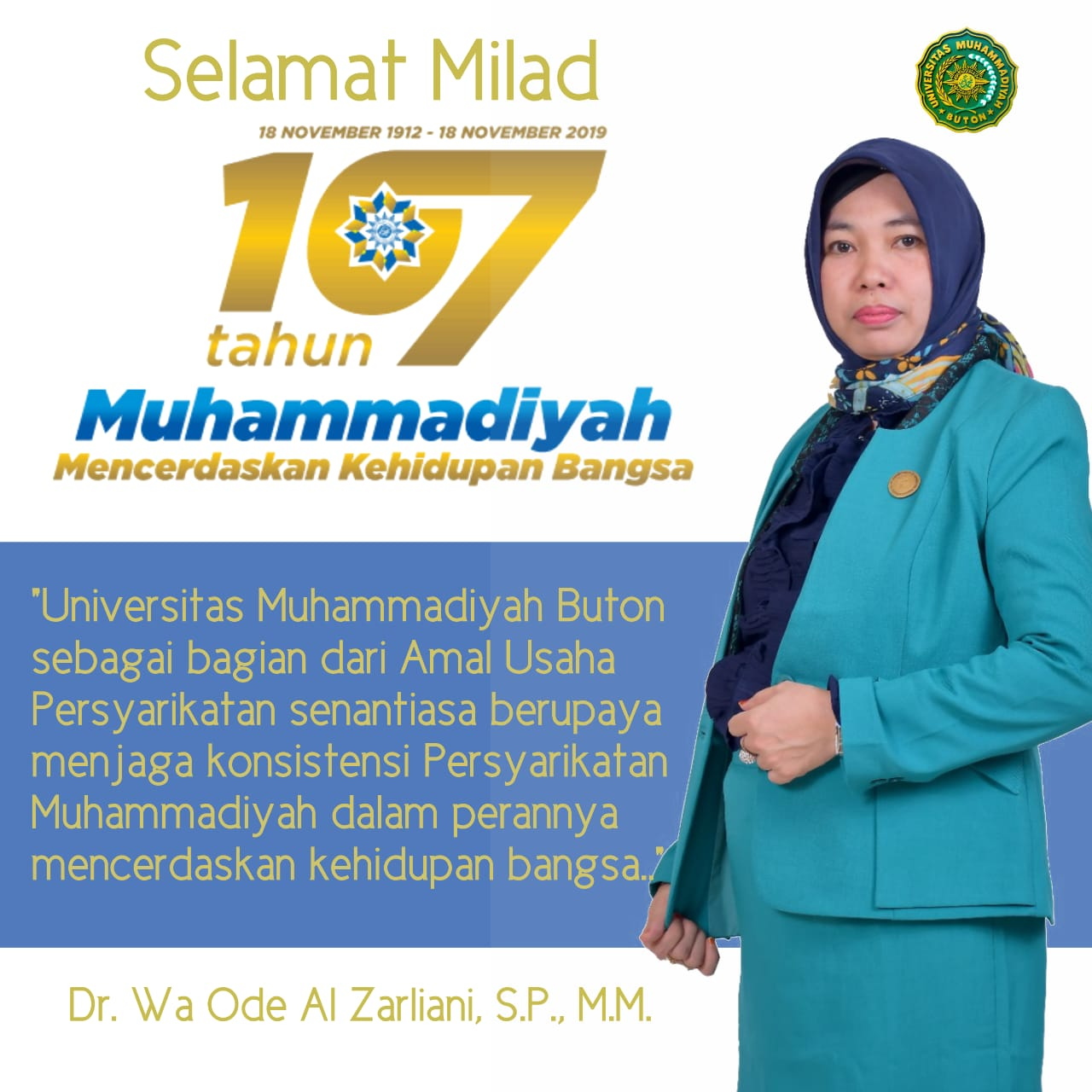 Milad ke 107 Tahun Muhammadiyah